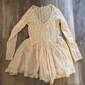 Cream Free People Slip size M